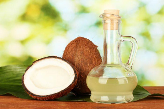 Spozywanie oleju kokosowego