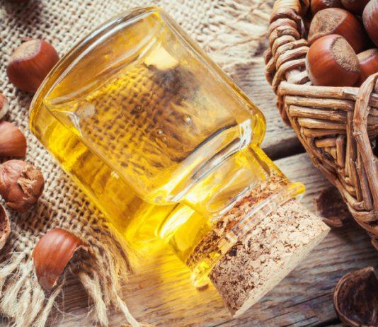 olej z orzechów laskowych