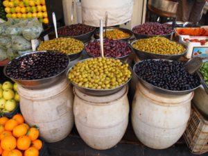 różne rodzaje oliwek