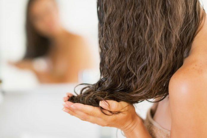 olej z wiesiołka na włosy