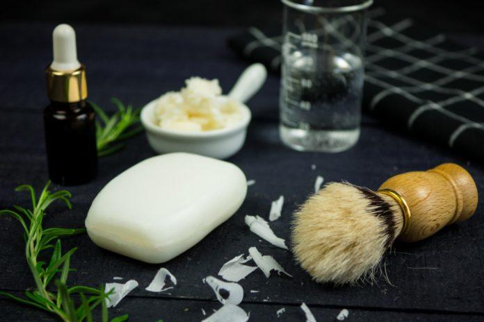 Rozmarynowe mydełko do golenia